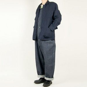 MARGARET HOWELL COTTON LINEN HERRINGBONE BLOUSON