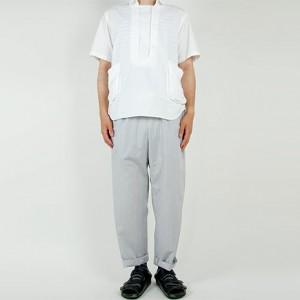 EEL Bed Pants 15GRAY STRIPE