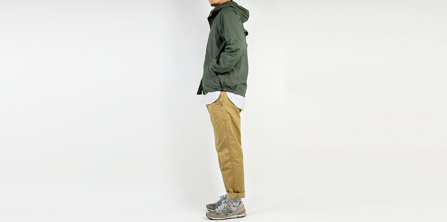 ordinary fits SWING PARKA3 KHAKI